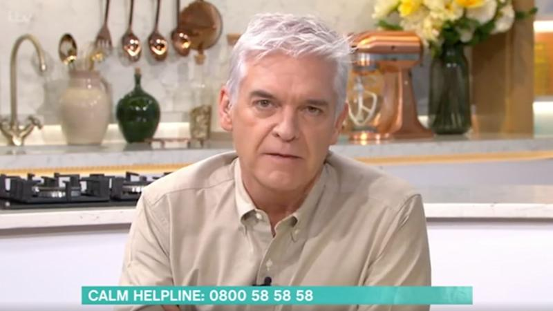 Phil on This Morning (Photo: ITV)