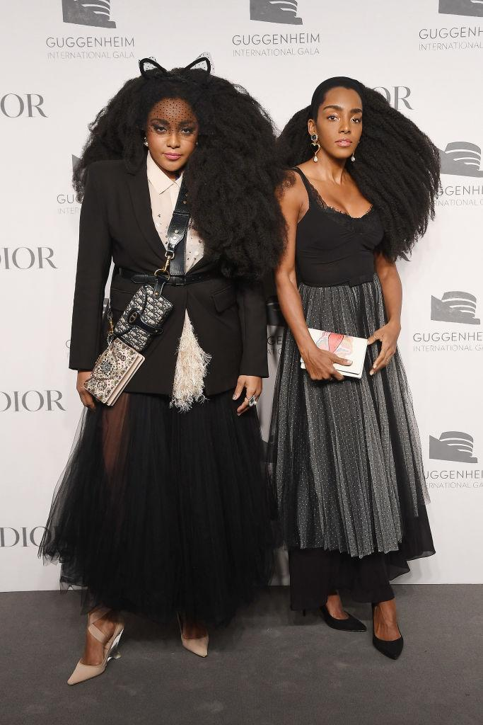 <p>Fashion's coolest twins proved their sartorial prowess at the Dior event. Now we're in desperate need of the Dior belt bag… <em>[Photo: Getty]</em> </p>