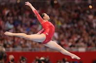 """<p>Lee's impressive abilities and hard work haven't just won her medals; they've won her praise from some of the all-time greats. """"<a href=""""http://www.elle.com/culture/a36503849/suni-lee-olympics-gymnastics-tokyo/"""" class=""""link rapid-noclick-resp"""" rel=""""nofollow noopener"""" target=""""_blank"""" data-ylk=""""slk:Her abilities as a gymnast"""">Her abilities as a gymnast</a>, especially her bar routine, are incredible,"""" Nastia Liukin, a five-time Olympic medalist, told <strong>Elle</strong>. """"But it's the unparalleled mental strength that she has shown during the most difficult time of her life that make her the person she is.""""</p> <p>Teammate Biles echoed the same sentiment to <strong>Bleacher Report</strong>: """"<a href=""""http://bleacherreport.com/articles/2893656-sunisa-lees-moment-must-wait"""" class=""""link rapid-noclick-resp"""" rel=""""nofollow noopener"""" target=""""_blank"""" data-ylk=""""slk:I admire her ability to take anything thrown at her"""">I admire her ability to take anything thrown at her</a>.""""</p>"""