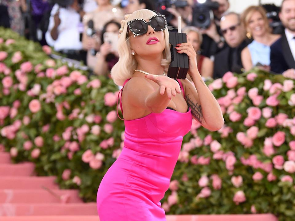 Lady Gaga attends The 2019 Met Gala Celebrating Camp: Notes on Fashion at Metropolitan Museum of Art (Getty Images for The Met Museum/)