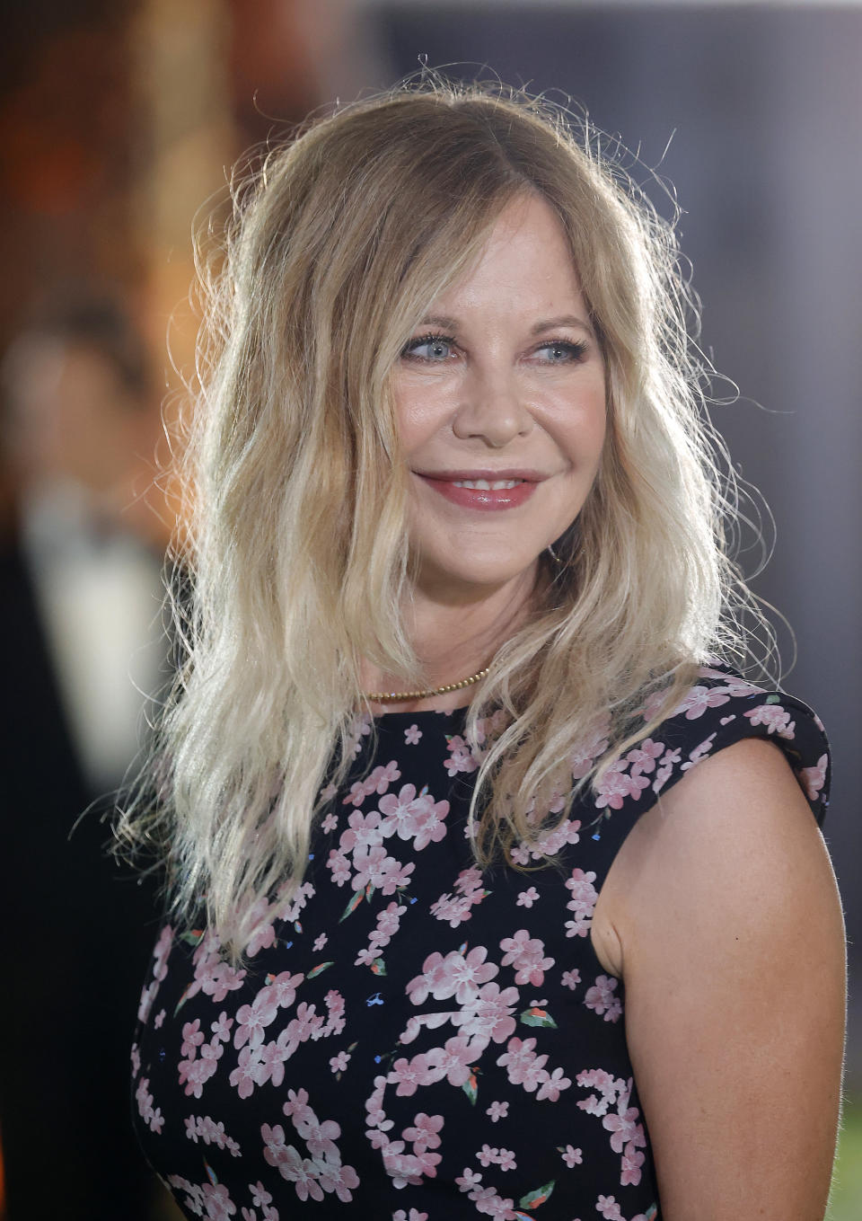 LOS ANGELES, CALIFORNIA - SEPTEMBER 25: Meg Ryan attends The Academy Museum of Motion Pictures Opening Gala at The Academy Museum of Motion Pictures on September 25, 2021 in Los Angeles, California. (Photo by Frazer Harrison/Getty Images)