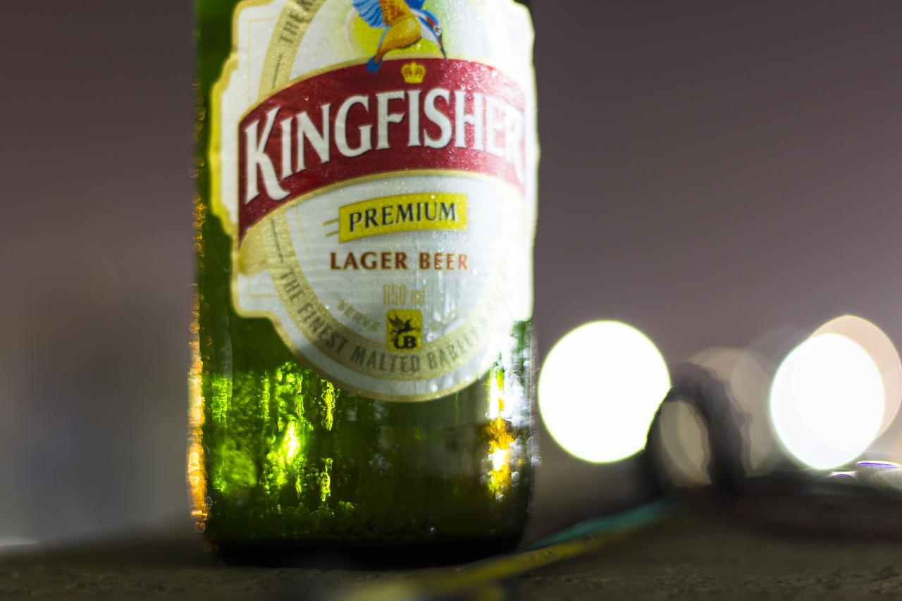 Kingfisher is an Indian beer brewed by United Breweries Group, Bangalore. The brand was launched in 1978. With a market share of over 36% in India, it is also available in 52 other countries. Presently, the Heineken Group holds 42.4% equity shares in United Breweries Ltd. In the UK, Kingfisher is brewed under licence by Heineken but to the same recipe as used in India.United Breweries Holdings Limited (UBHL) or UB Group markets beer under the Kingfisher brand, and owns various other brands of alcoholic beverages.