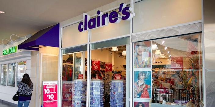 claires stores