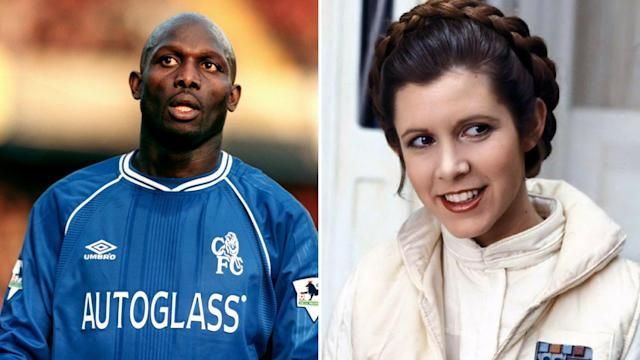<p>Princess Weah – One of football's famous names sounds a bit like the character played by Carrie Fisher </p>