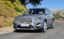 "<p>The BMW faithful cried foul when the second-generation <a href=""https://www.caranddriver.com/bmw/x1"" rel=""nofollow noopener"" target=""_blank"" data-ylk=""slk:X1"" class=""link rapid-noclick-resp"">X1</a> arrived for 2016. To them, it was bad enough that the X1 was an SUV, but the crossover's transversely mounted engine and standard front-wheel drive marked an even greater offense. Skip past that noise, though. The X1 is a practical and enjoyable small crossover, with lots of space inside and <a href=""https://www.caranddriver.com/reviews/a15102177/2016-bmw-x1-xdrive28i-test-review/"" rel=""nofollow noopener"" target=""_blank"" data-ylk=""slk:energetic driving dynamics"" class=""link rapid-noclick-resp"">energetic driving dynamics</a>. We named it as the Best Subcompact Luxury Crossover in our <a href=""https://www.caranddriver.com/features/a14781118/2018-10-best-trucks-suvs/"" rel=""nofollow noopener"" target=""_blank"" data-ylk=""slk:2018 10Best Trucks and SUVs awards"" class=""link rapid-noclick-resp"">2018 10Best Trucks and SUVs awards</a>, and the attractive base price is just the cherry on top of an already appealing package.</p><ul><li>Engine: 228-hp turbocharged 2.0-liter inline-four</li><li>Cargo space: 27 cubic feet </li></ul><p><a class=""link rapid-noclick-resp"" href=""https://www.caranddriver.com/bmw/x1/specs"" rel=""nofollow noopener"" target=""_blank"" data-ylk=""slk:MORE X1 SPECS"">MORE X1 SPECS</a></p>"