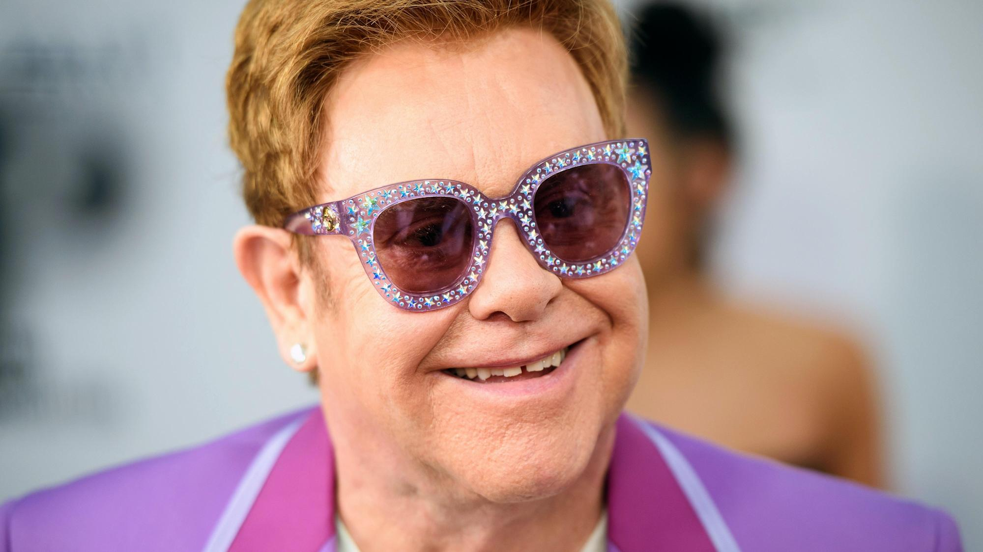 Sir Elton John to be honoured at the Global Citizen Prize