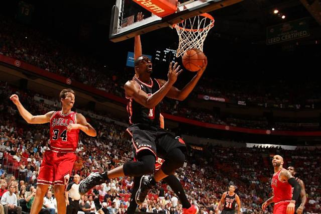 Heat beat Bulls without LeBron, 93-79