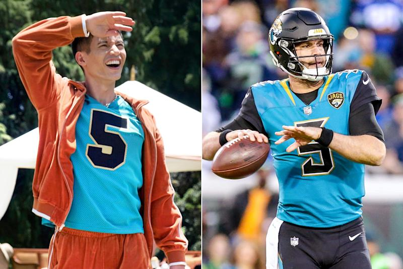 The Good Place creator weighs in on possibility of Blake Bortles cameo in final season