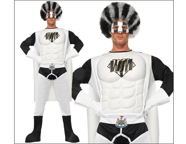 It's a bird! It's a plane! It's a Newcastle fan with too much disposable income! (shop.nufc.co.uk)
