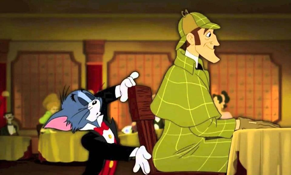 <p><em>Tom and Jerry Meet Sherlock Holmes</em> was a 2010 animated film featuring Michael York voicing the sleuth. It was the first <em>Tom and Jerry</em> production made without original creators William Hanna and John Barbera. </p>