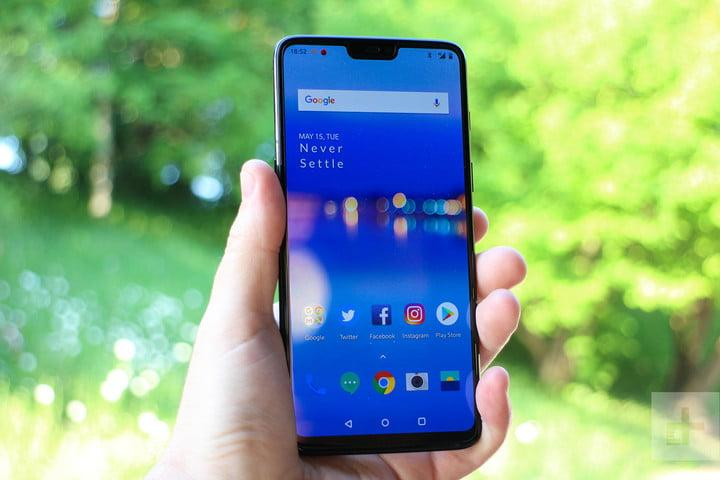 oneplus 6 hands on home screen