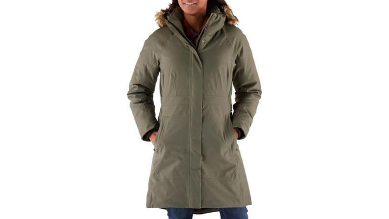 This coat can withstand the coldest, harshest of temps.