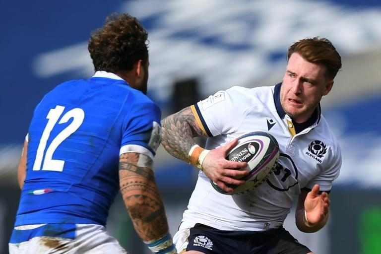 Stuart Hogg has 84 caps since his Scotland debut in 2012