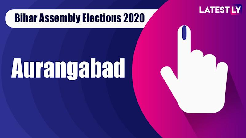 Aurangabad Vidhan Sabha Seat in Bihar Assembly Elections 2020: Candidates, MLA, Schedule And Result Date