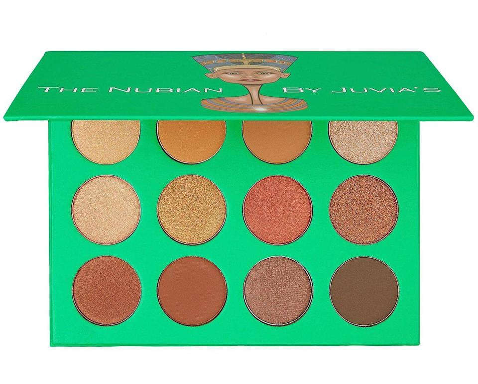 "<h2>Juvia's Place The Nubian Palette</h2><br>""This is one of the best nude palettes out there for Black women, in my opinion. It's pigmented and easy to blend with a price point that won't hurt your pockets. It's versatile and great for everyday casual looks, but it can also be dressed up when you have to turn it up for nighttime festivities."" — Ineye Komonibo, entertainment writer<br><br><strong>Juvia's Place</strong> THE NUBIAN, $, available at <a href=""https://go.skimresources.com/?id=30283X879131&url=https%3A%2F%2Fwww.juviasplace.com%2Fproducts%2Fnubian-eyeshadow-palette"" rel=""nofollow noopener"" target=""_blank"" data-ylk=""slk:Juvia's Place"" class=""link rapid-noclick-resp"">Juvia's Place</a>"