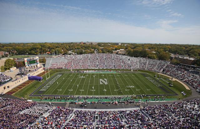 Damari Roberson hoped to make Northwestern's Ryan Field his home stadium, but the school would not accept his commitment after a second serious knee injury. (Photo by Jonathan Daniel/Getty Images)