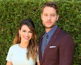 """<em>This Is Us</em> actor Justin Hartley filed for divorce from Chrishell Stause in November, citing irreconcilable differences, according to documents obtained by <a href=""""https://people.com/tv/justin-hartley-chrishell-stause-split/"""" rel=""""nofollow noopener"""" target=""""_blank"""" data-ylk=""""slk:People"""" class=""""link rapid-noclick-resp"""">People</a>. Hartley listed their date of separation as July 8, 2019, despite hanging out with his ex at public events well into October. The pair were married at Malibu's Calamigos Ranch on October 28, 2017, after a two-year engagement."""