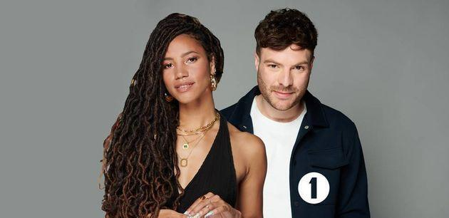 Vick Hope and Jordan North will take over the Radio 1 drivetime show (Photo: BBC)