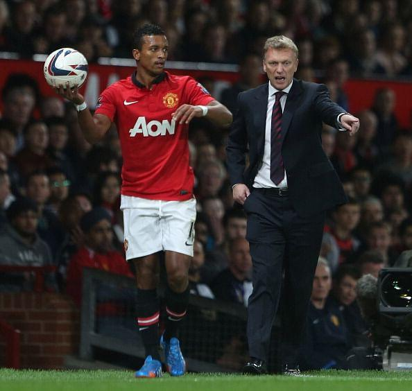 David Moyes has defended Nani after he was booed at Old Trafford.