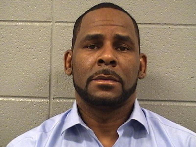 R. Kelly's mug shot, February 2019. | Cook County Sheriff's Office
