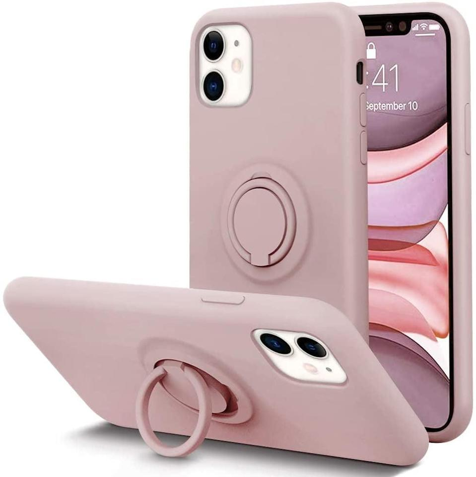 <p>It's time to upgrade their phone with this cool <span>Kumeek Kickstand iPhone Case</span> ($16).</p>