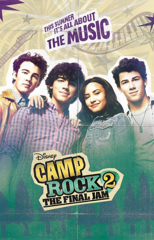 <p>The Jonas Brothers and Demi Lovato re-team for this classic 'us versus them' camp battle. But which rival camp will produce the most-downloaded iTunes single? That is the question, forever.<br><br><i>(Credit: Disney Channel)</i> </p>