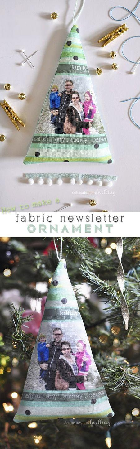 """<p>Though making dozens of these fabric cards would get tiresome—and expensive—it is a very unique option for a handful of really special loved ones. Plus, it can double as a tree ornament. </p><p><em>Get the tutorial at <a href=""""https://www.delineateyourdwelling.com/fabric-newsletter-ornaments"""" rel=""""nofollow noopener"""" target=""""_blank"""" data-ylk=""""slk:Delineate Your Dwelling"""" class=""""link rapid-noclick-resp"""">Delineate Your Dwelling</a>.</em></p><p><a class=""""link rapid-noclick-resp"""" href=""""https://www.amazon.com/Pieces-Christmas-Quilting-Squares-Patchwork/dp/B07Z93DW7T?tag=syn-yahoo-20&ascsubtag=%5Bartid%7C10072.g.34351112%5Bsrc%7Cyahoo-us"""" rel=""""nofollow noopener"""" target=""""_blank"""" data-ylk=""""slk:SHOP HOLIDAY FABRIC"""">SHOP HOLIDAY FABRIC</a></p>"""