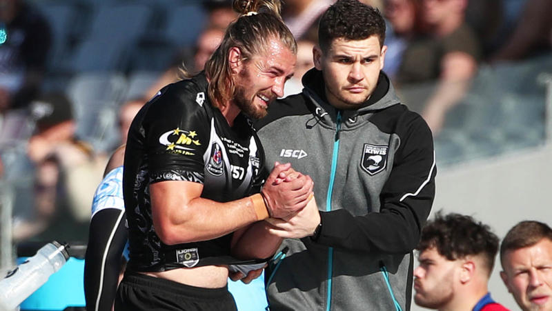 Kieran Foran is set to miss the entire NRL season after shoulder surgery. (Getty Images)