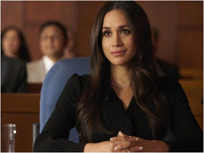 """""""Suits"""" was created by Aaron Korsh. <p class=""""copyright"""">Untitled Korsh Company/Hypnotic Films & Television/Universal Cable Productions/Universal Content Productions/Open 4 Business Productions</p>"""