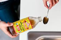 Always start my morning with a spoonful of Apple Cider Vinegar to balance my blood sugar.