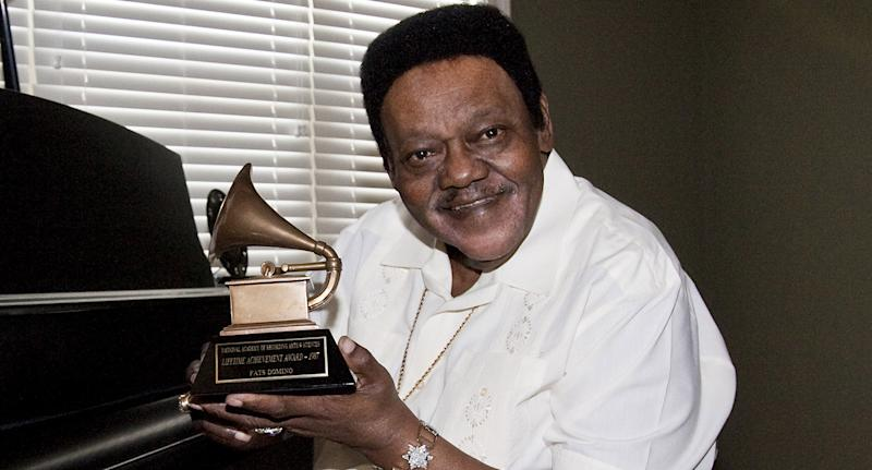 Fats Domino im Jahr 2009. (Getty Images)