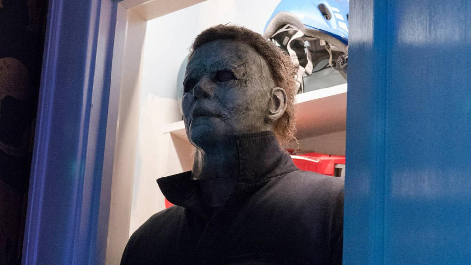 Michael Myers returned in the 2018 reboot of 'Halloween', which will get two sequels. (Credit: Universal)