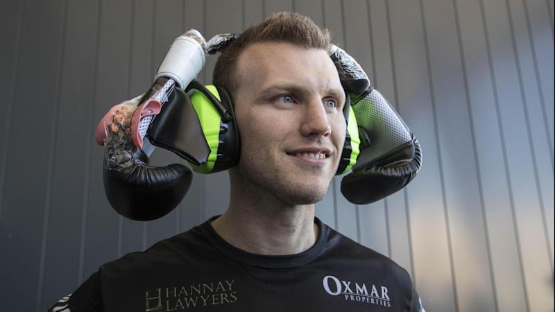 <p>Jeff Horn could potentially face British former light-welterweight champion Amir Khan in 2018.</p>