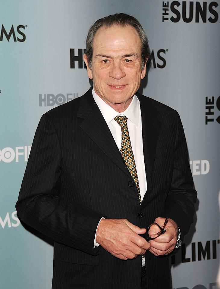 """Tommy Lee Jones turns 65. Andrew H. Walker/<a href=""""http://www.wireimage.com"""" target=""""new"""">WireImage.com</a> - February 1, 2011"""