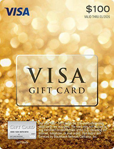 """<p><strong>Visa</strong></p><p>amazon.com</p><p><strong>$105.95</strong></p><p><a href=""""https://www.amazon.com/dp/B01MSBQB1P?tag=syn-yahoo-20&ascsubtag=%5Bartid%7C10050.g.25632110%5Bsrc%7Cyahoo-us"""" rel=""""nofollow noopener"""" target=""""_blank"""" data-ylk=""""slk:Shop Now"""" class=""""link rapid-noclick-resp"""">Shop Now</a></p><p>Give them the gift of...well, everything! This snazzy card adds to the fun with a sparkly design.</p>"""
