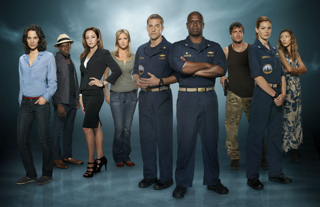 "<b>""<a href=""http://tv.yahoo.com/blogs/fall-tv-show/last-resort-035434824.html#ftv"">Last Resort</a>"" (ABC) </b><br><br>Man, this one is tough. We just got done telling you that Shawn Ryan's military thriller is <a href=""http://tv.yahoo.com/blogs/fall-tv/last-resort-why-fall-best-drama-160258033.html"">our favorite new drama of the fall</a>, but it may have been sunk by a terrible timeslot. Stuffed awkwardly into the 8 PM family hour against ""The Big Bang Theory"" and ""The X Factor,"" the premiere <a href=""http://tv.yahoo.com/news/ratings-elementary-strong-last-resort-ok-debuts-162300237.html"">recruited just 9 million viewers</a>, with only a fraction more in the key adult demo than ""Charlie's Angels"" got last year -- and that only lasted four episodes. We'd love to see the deep-sea military intrigue of ""Resort"" play out for a full season, but the show's highly serialized nature means it's unlikely to pick up a great deal of new viewers from here. <br><br><b>Prognosis:</b> All hands to battle stations. Fingers crossed for a buzz-fueled uptick in the coming weeks, but this may just be a one-year mission for the U.S.S. Colorado."