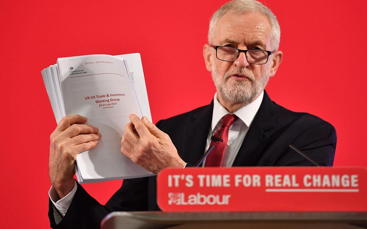 Russians tried to interfere in 2019 election by promoting document touted by Jeremy Corbyn