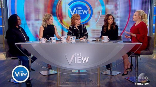 PHOTO: 'The View' hosts appear on the ABC daytime talk show on Nov. 2, 2017. (ABC)
