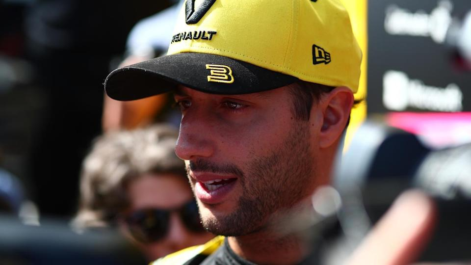 Daniel Ricciardo is taking a realistic approach to the Melbourne F1 with new team Renault.
