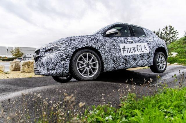 Mercedes-Benz's new GLA is slated to premiere on December 11