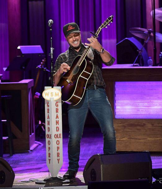 PHOTO: Country artist Luke Bryan performs at the Grand Ole Opry House on Oct. 22, 2019 in Nashville. (Jason Kempin/Getty Images)