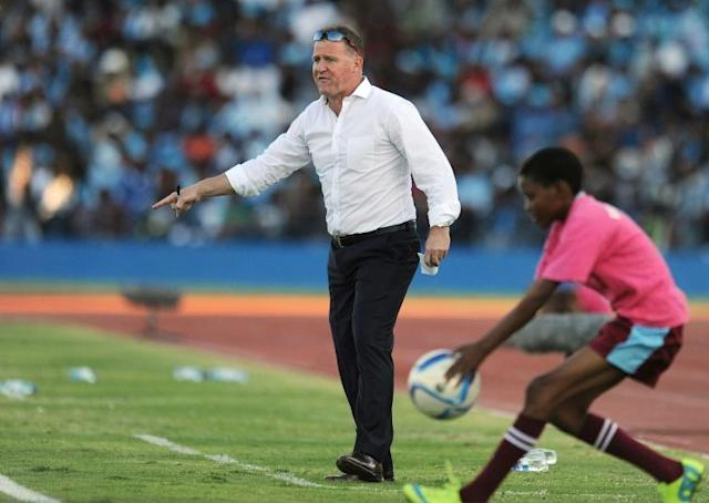 English coach Peter Butler had his dreams of taking Liberia to the 2021 Africa Cup of Nations dashed by a penalty shootout loss in Chad (AFP Photo/MONIRUL BHUIYAN)