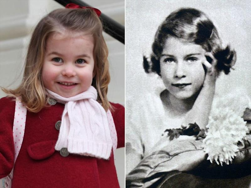 Princess Charlotte and Queen Elizabeth