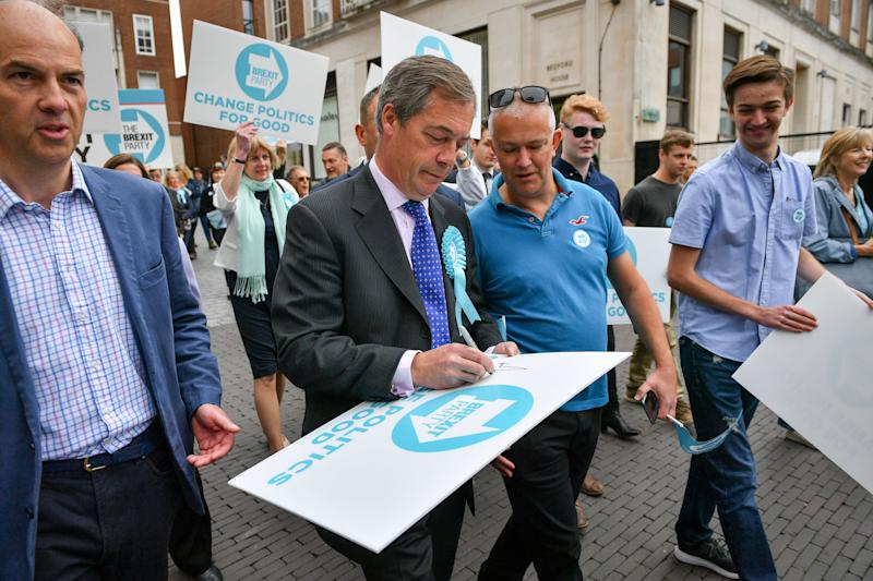 Channel 4 News Confirms It Has Been Banned From Brexit Party Events