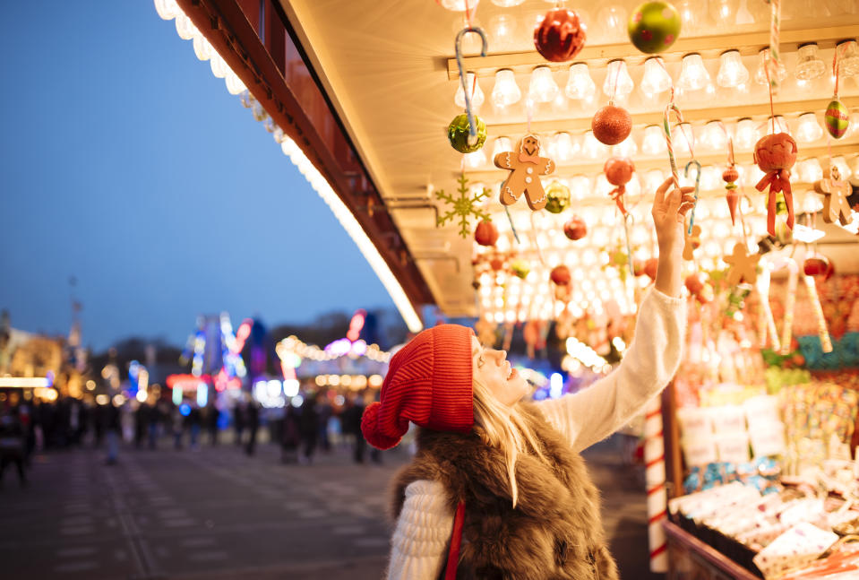 You'll have to travel around 10 Christmas markets in December. [Photo: Getty]