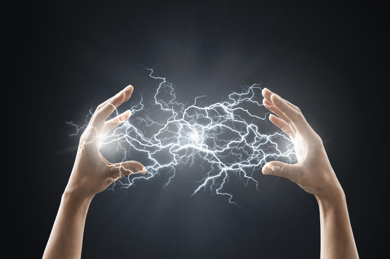Electric energy sparks