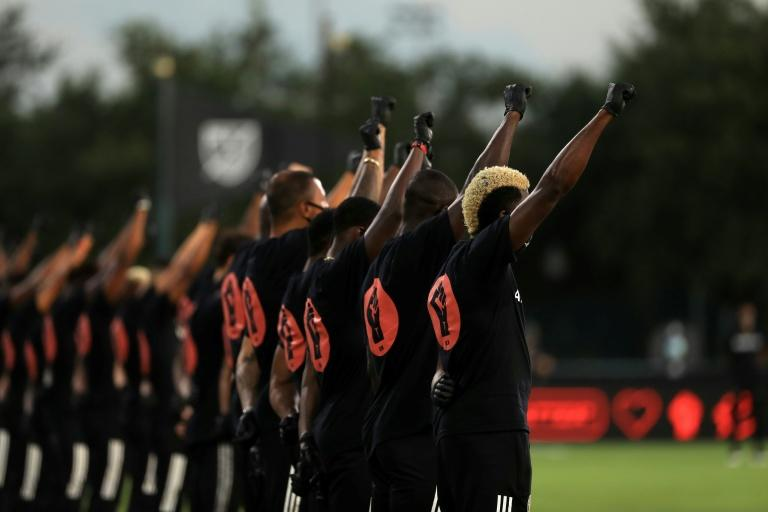 MLS Stars Take Part In Powerful Eight Minute Black Lives Matter Protest