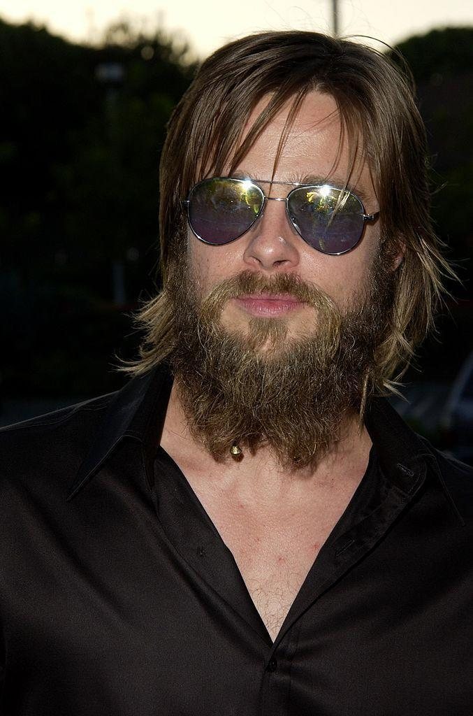 <p>We're not sure why Brad felt the need to undergo a disheveled-homeless look with his hair and beard, but we're glad it was just a phase.</p>