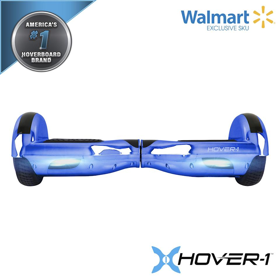 """<p><strong>Hover-1</strong></p><p>walmart.com</p><p><strong>$148.00</strong></p><p><a href=""""https://go.redirectingat.com?id=74968X1596630&url=https%3A%2F%2Fwww.walmart.com%2Fip%2F245819153&sref=https%3A%2F%2Fwww.womenshealthmag.com%2Flife%2Fg33983876%2Fbest-hoverboards%2F"""" rel=""""nofollow noopener"""" target=""""_blank"""" data-ylk=""""slk:Shop Now"""" class=""""link rapid-noclick-resp"""">Shop Now</a></p><p>The Hover-1 Electric Hoverboard can run up to three miles at six miles per hour, and don't worry if you happen to get caught in the rain while riding this one. It's actually water-resistant. </p>"""