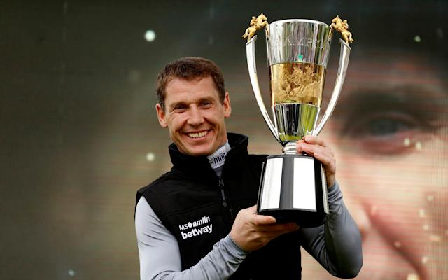 <span>Richard Johnson was crowned Champion Jockey for the second time</span> <span>Credit: PA </span>